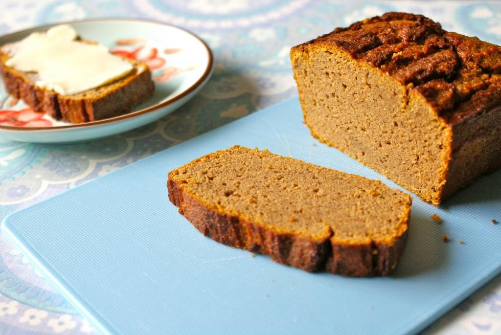 Paleo pumpkin brød