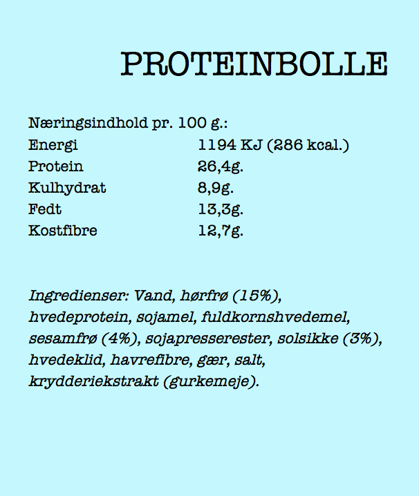 Proteinbolle